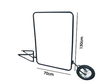 Brand New Skiiddii Advertising Bicycle Bike Trailer Mobile Billboards