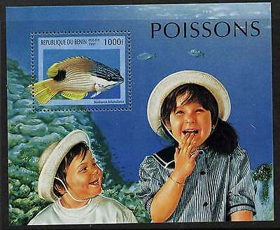 Benin 1053 MNH - Fish, Children