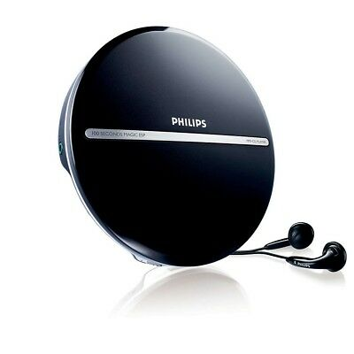 Philips EXP2546 Portable MP3-CD Player  MP3CD playback with 100-second Magic ESP
