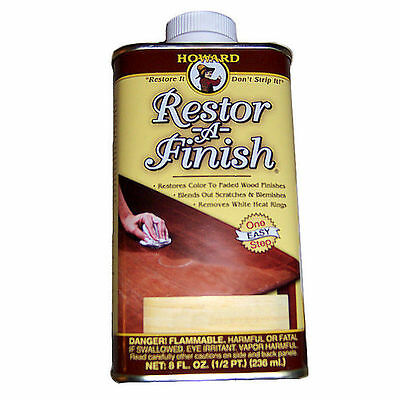 Howard Restor-A-Finish Restore It 8oz - Multiple Colors