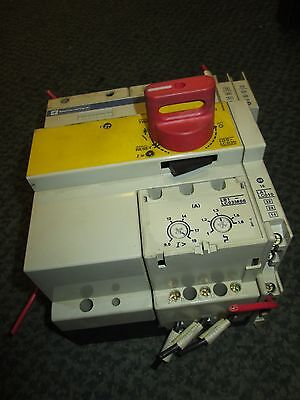 Telemecanique  Combination Motor Starter  LD5-LC030  Integral 32  9.5-19A  Used