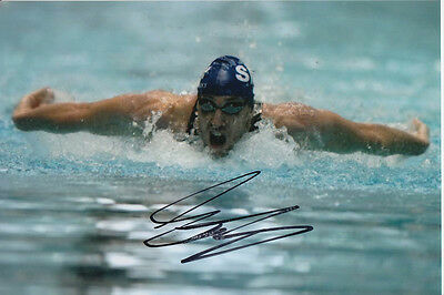 Stephen Parry Hand Signed Great Britain Olympics 2004 Athens 6X4 Photo 5.