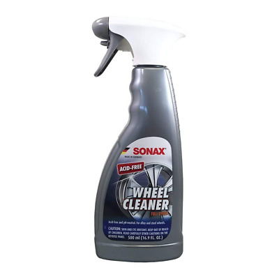 Sonax Full Effect Wheel Cleaner 16.9Oz Spray Alloy Chrome Painted Steel