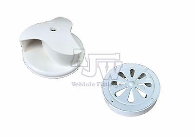 Rotary Wind Driven WHITE Van Roof Vent Ford Transit Connect, Toyota Hi Ace