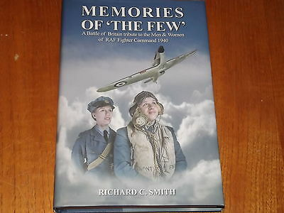 Memories of the Few  - Battle of Britain book - Author signed copy