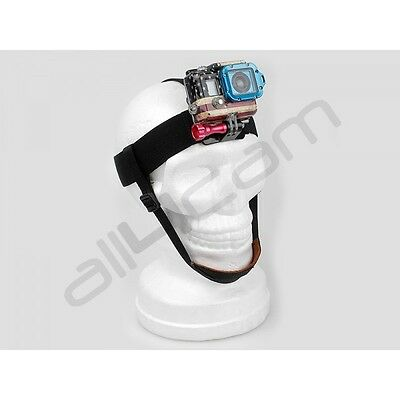 Head Strap Mount Adjustable with Chin Strap for GoPro HERO 6 5 4 3