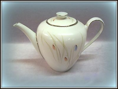 Vtg.1962 Kpm Krister Germany Coffee / Tea Pot Platinum #707 Authentic Import