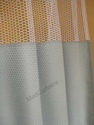 Curtain Willow 96Wx93 HOSPITAL CLINIC LAB Antibacterial Antimicrobial medical