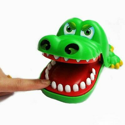 Green Alligator Lovely Funny Toys Kids Christmas Gifts Family Interactive Games