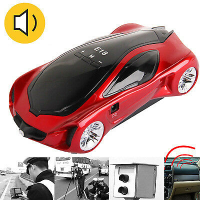 TECNICO E18 Red, 360 Degrees Full-Band Scanning Car Speed Testing System / Dete