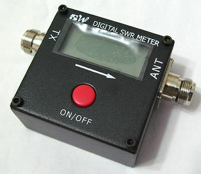 Digital VHF UHF Power & SWR Meter for FT-8800R Radio RED DOT 1051A 100~500mhz