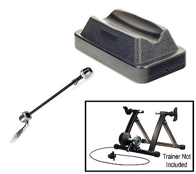 New Cycle Turbo Trainer Indoor Exercise Bike Magnetic Resistance Training Black
