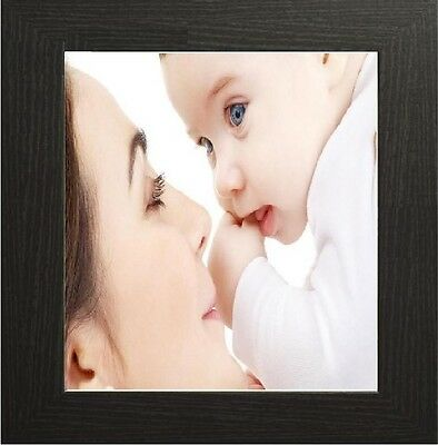 Black Square Picture Frame Photo Frame Poster Frames All Sizes Stand or Hang