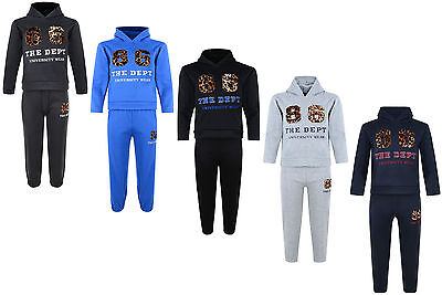 Kids Tracksuit Boys Girls Jog Set 86 Dept Hooded Top & Joggers Bnwt