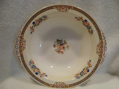 #261 W. H. Grindley & Co. England Ivory Marjorie Pattern Round Serving bowl