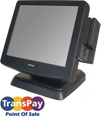 Posiflex KS6615 POS Touch-Screen All-In-One Terminal w/ Magnetic Stripe Reader