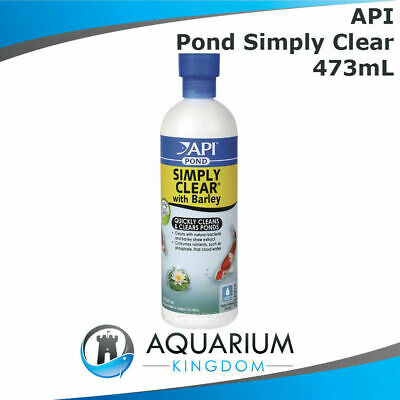 API PondCare Simply Clear 473mL Clarifier - Clears Murky / Cloudy Pond Water
