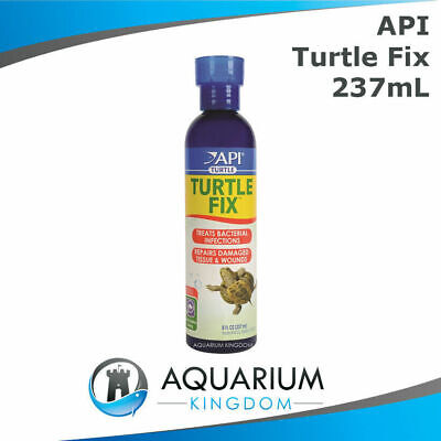 API Turtle Fix 237mL - Reptile Anti Bacterial Infection Medication Repair Wounds