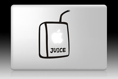 "Apple Juice Box Decal Sticker For MacBook Air Pro Retina 11"" 13"" 15"" 17"""