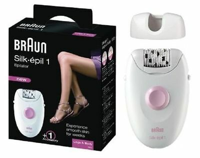 Braun SE1370 Silk-Epil 1 Bikini/Legs/Body Shaver Trimmer Tweezer Epilator Corded