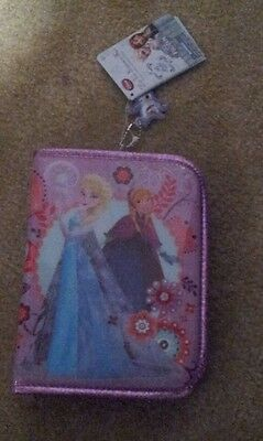 Disney Store Frozen Elsa and Anna Zippered Art Set NEW with Tags