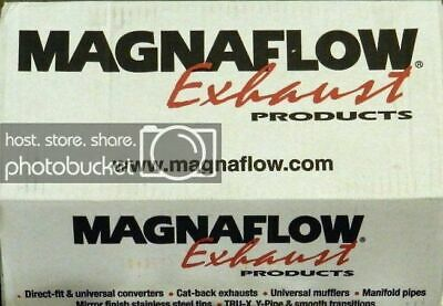 MagnaFlow #10425 Stainless Steel Muffler 18In Body  2-1//4In C//C W//2.