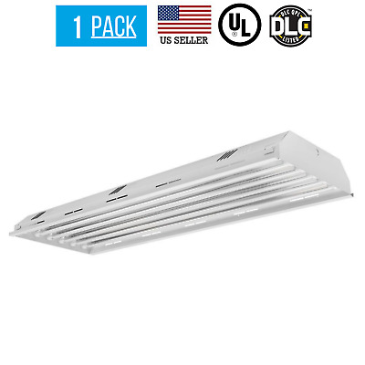108W 6 Lamp T8 LED High Bay 9600 Lumens - Warehouse Commercial Lighting - DLC UL