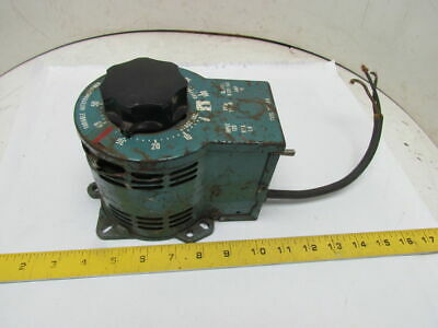 S.I. 3PN1010 Variable Auto Transformer 120V IN 0-120/140V Out 1.4KVA