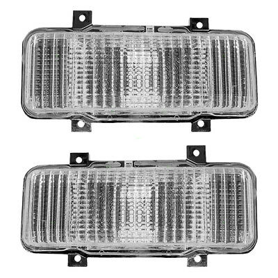1980 Chevy GMC Pickup Truck SUV Set of Front Signal Marker Lights 914807 914808