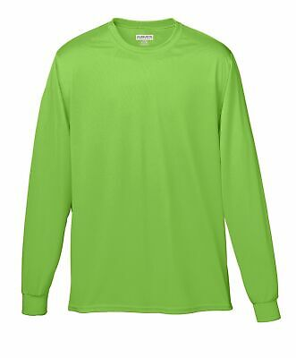 Augusta Sportswear Men's Moisture Wicking Long Sleeve Basic Tee. 788