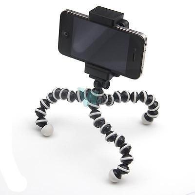 Octopus Large Flexible Tripod Stand Holder for iPone6 Plus 5 5C 5S 4S GALAXY S5