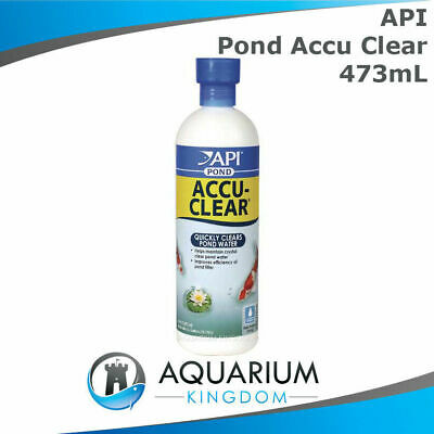 API PondCare Accu-Clear 473mL Clarifier Quickly Clears Murky Cloudy Pond Water