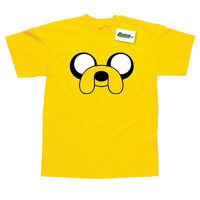 Jake Inspired by Adventure Time Printed Kids T-Shirt