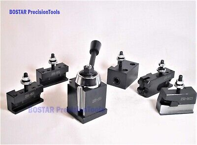 OXA Wedge Type Tool Post Set 250-000 For Mini Lathe up to 8""