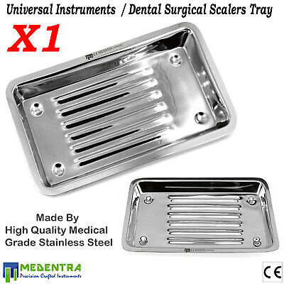 Dental Instruments Scaler Tray, Instruments Tray, Surgical, Lab, Veterinary,New