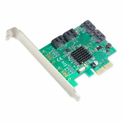 IOCrest Revision 2.0 4-port SATA III PCIe using Marvell chipset