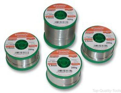SOLDER WIRE, LEAD FREE, 1.5MM, 250G - Part Number 535775