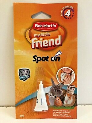 Bob Martin My Little Friend Flea Spot On Rabbits Guinea Pigs Ferret Hamster New!