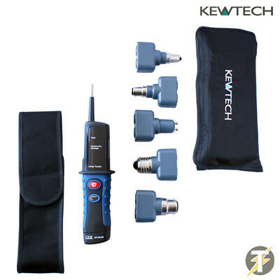 Kewtech Lightmate Light Testing Kit with DT9133 Electrical Lamp / Light Tester