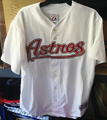 Majestic Athletic MLB Replica Jersey - Houston Astros Alternate Home - Size LG