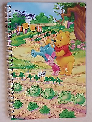 Disney Winnie The Pooh Tigger Paper Notebook Journal Diary Lined
