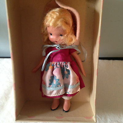Nancy Ann Storybook Bisque Mistress Mary  # 119  with Box