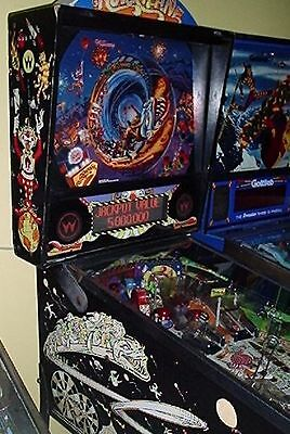 HURRICANE IS BLOWING INTO TOWN Pinball Machine by WILLIAMS - WOW!