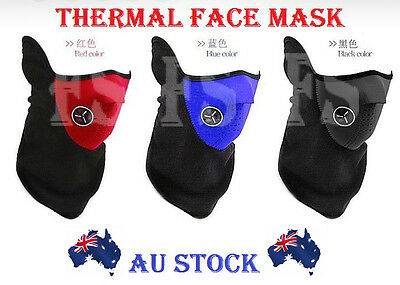 Neoprene Neck Warm Face Mask Skiing Snowboarding Sports Motorcycle Bike Outdoor