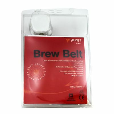 NEW Home Brew heater belt for beer wine brewing making. Economical to run.