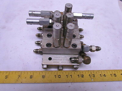 Lubriquip MSP-30T MSP-10T MSP-5T 4-Section Divider Valve Manifold Block Assembly