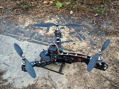 HJ-Y3 Glass Fiber Tricopter 3-axis Multicopter Rotor Frame Kit