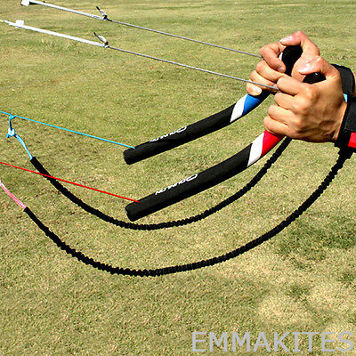 "Professional 14"" Control Bar with Wrist Leash Safety System for Power Kites"