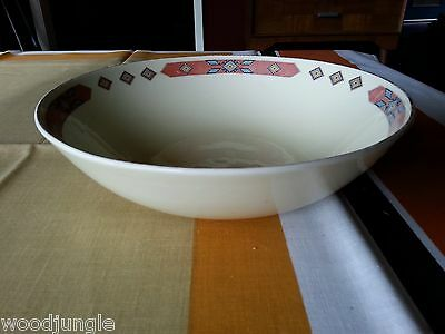 RARE Antique Art Deco W.S. GEORGE  CAVITT SHAW IROQUOIS VEGETABLE BOWL VIntage