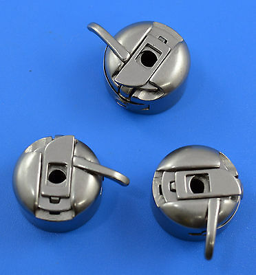 3 Bobbin Case For Domestic Sewing Machine Brother Toyota Janome Singer & More
